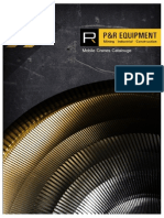 P&R Equipment - Mobile Cranes Catalogue