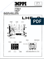 Kemppi LHF3 Spare Parts and Scheme