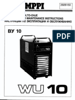 Kemppi WU10 User Manual