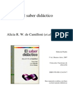 EDUC 2 Cap 5 El Saber Didactico