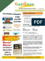 0909 Newsletter
