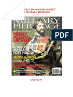 New Real Napoleon Advert in Military Heritage Magazine