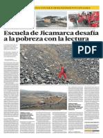 Escuela de Jicamarca desafía a la pobreza con la lectura