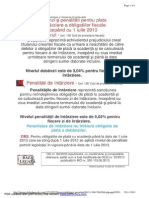 Dobanzi Si Penalitati Din 01.07.2013