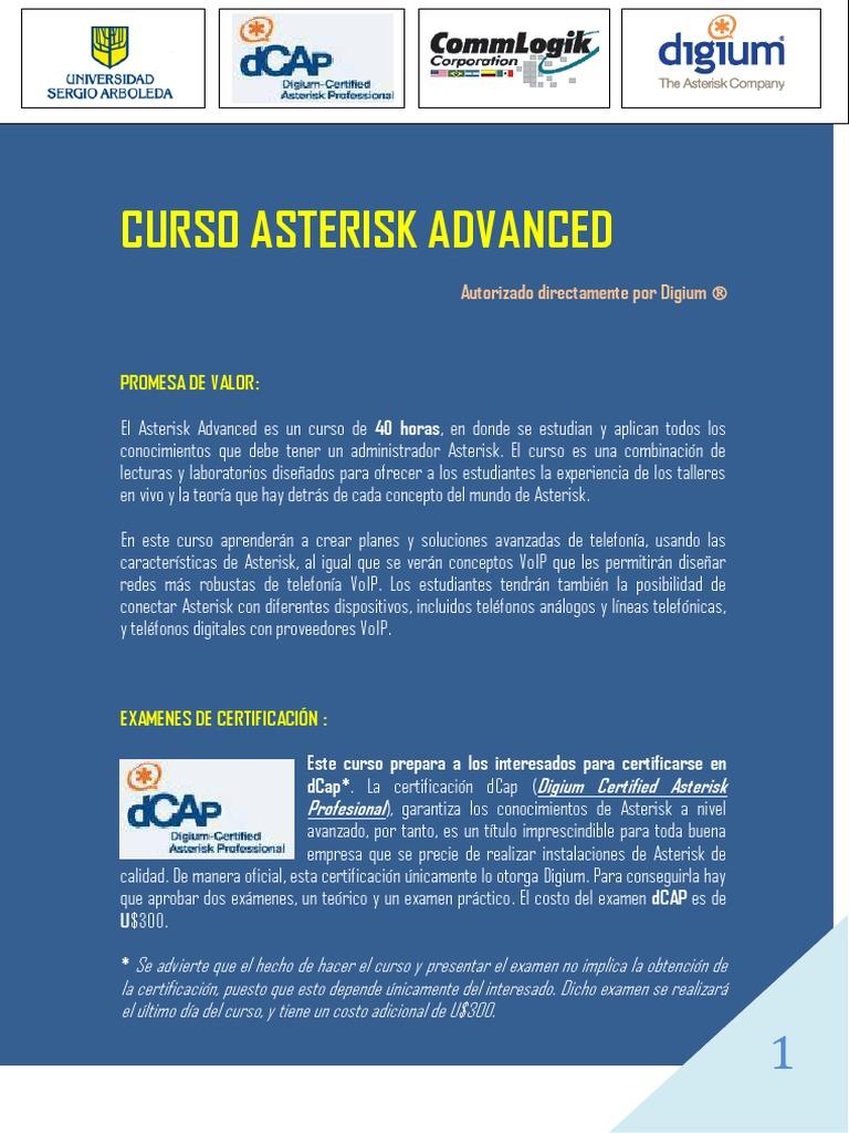 ASTERISK INFORMACION AMPLIADA pdf