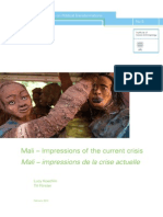 Mali ; impressions de la crise actuelle - Basel Papers on Political Transformations n°5, 2013.02