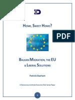 Rapport sur l'immigration balkanique vers l'Europe de l'Ouest