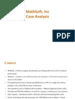 MathSoft b2b case solution