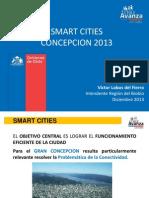 Smart Cities Intendente  Región del Biobío, Víctor Lobos