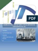 DISEÑO DE LOSA CON SAP2000,ACI