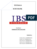 Group K_ICICI Bank_MCS Report