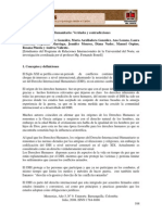 DIH- Derecho Internacional Humanitario. Verdades y Contradiccioness- Vanessa Cardona