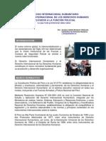 DIH- Derecho Internacional Humanitario y de los DDHH aplicados a la función de la policía- SN