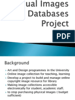 Visual Images Databases Project