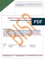 Managing SoA Composite Application