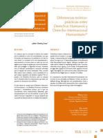 DIH- Diferencias Teorico Prácticas entre DDHH y DIH- Andres Ramirez