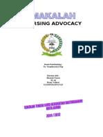 Makalah Nursing Advocacy