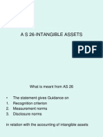 As 26 Intangible Assets