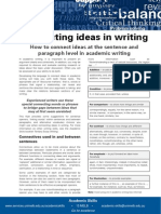 Connecting Ideas in Academic Writing Update 051112
