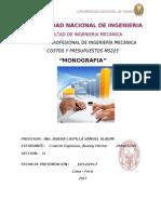 TRABAJO FINAL Monografia de Costos 2013 II
