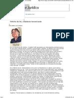 Conjur - Senso Incomum- Fetiche Da Lei, Cidadania Terceirizada - 05.04.2012