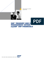 SAP Treasury and Risk Management Within SAP ERP Financials