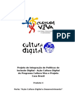 Ação Cultura Digital CNPq - Produto II