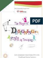 The Magic of Designing FUN!! in Training- Brochure
