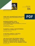 WALTENBERG, Fabio et al. Cotas nas Universidades Brasileiras. A Contribuição das Teorias de Justiça Distributiva ao Debate
