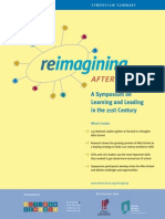 Reimagining After-School Symposium Summary