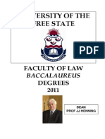 Free State Law 2011