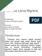 Cutaneus Larva Migrans