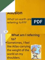 la - literary device - allusion