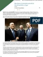 12-12-13 Cambios constitucionales abren a la iniciativa privada la exploración y explotación del petróleo y el gas