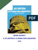 Saurat, Denis - A Atlantida e o Reino Dos Gigantes