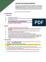 Overseas Examination Procedure