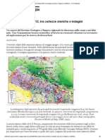 Terremoti emiliani 2012, tra certezze storiche e indagini scientifiche — E-R Ambiente