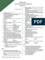 Naskah Soal Lomba Mapel Sd Kelas 5