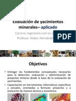Evaluación de yacimientos UAC - Clase 1