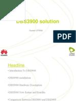 DBS3900V1 Presentation