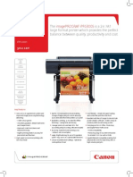 Midshire Business Systems - Canon iPF6300S - Image Prograph Brocuhre