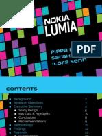 Nokia Marketing Research Deck