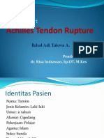 Ruptur Tendon Achilles Lapkas