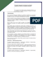 Adenda Convenio Temporario Bolivia - Argentina