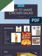 how to make chicken salad 12-13-13