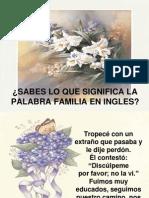 Significado Familia en Ingl s