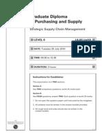 Strategy strategic Supply Chain Management