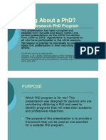 Finding Phd