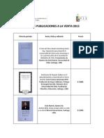 LISTADO DE PUBLICACIONES A LA VENTA 2013 (Diciembre_2013) (1).docx