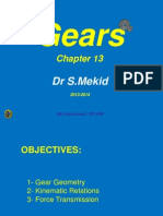 Chapter 13-1 Gears Mekid 2013